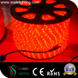 Transparente 10mm, 13mm PVC Round Shape LED Rope Lights