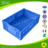 Пластичная Stackable и складная клеть хранения для перехода