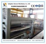 Línea plástica máquina de la protuberancia de la hoja del azulejo del edificio del PVC de la venta caliente de la fábrica de extrudado acanalada esmaltada de la hoja del azulejo de azotea