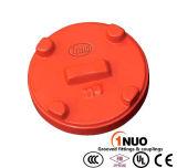FM/UL/Ce Approval Ductile Iron Cap avec Eccentric Hole