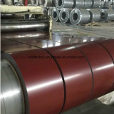 La perfection a enduit la bobine d'une première couche de peinture en acier, bobines galvanisées d'acier