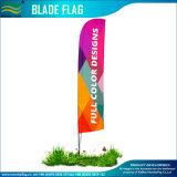 Выполненный на заказ флаг пера лезвия пляжа летания с прямой кнопкой (NF04F06107)