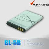 Batería 3.7V 600mAh Bl-5c del teléfono móvil del litio de la alta calidad