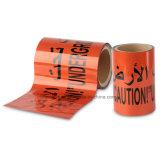 高温抵抗力があるガス管のアルミホイルの警告テープ