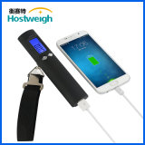 Hostweigh 50kg 전자 2600mAh 힘 은행 디지털 여행 수화물 가늠자