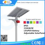 15W Solar-LED Straßenlaternegenehmigte mit Cer RoHS 5 Jahre Garantie-