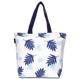Saco de compra não tecido de papel do punho da lona do algodão do couro do saco de compra do presente (X036)