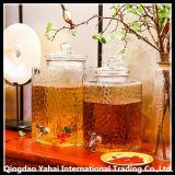 10L GlasSquar Glas/Wein-Flasche/Glasgärungsbehälter
