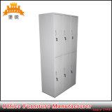 Kundenspezifisches Tür-Stahl-Kleidung-Schließfach des Metalländernder Raum-Gebrauch-sechs
