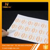 Autoadesivo resistente all'intemperie del vinile del PVC del bene durevole di stampa su ordinazione
