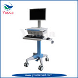 Krankenhaus mobile PC Karre mit Druck-Tellersegment