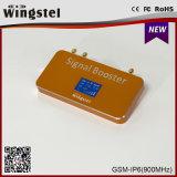 Nuevo aumentador de presión móvil de la señal del diseño 500m2 G/M 900MHz de la manera con el LCD