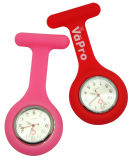 Relógio relativo à promoção Eco-Friendly da enfermeira do silicone