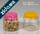 Alimentos transparente selladas de plástico Tarros de embalaje al por mayor de las galletas de té de la botella