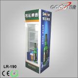 최고 광고 상자 (LR-190)를 가진 190L 유리제 문 강직한 냉장 진열장
