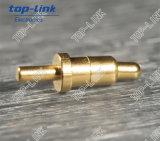 両端が類似したバネ付きの真鍮の接触Pin (必要とされる溶接無し)