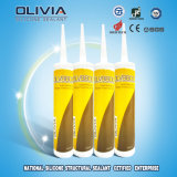 Sellador de silicona de acristalamiento estructural de rendimiento super (OLV8800)