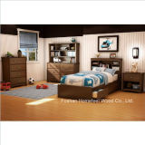 Kids Twin Mates Bed 3 Piece Bedroom Set (HF-HH30)
