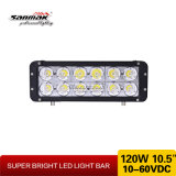 10.5 дюйма 10W для CREE Chip 120W Double Row СИД Light Bar Offroad Each