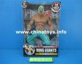 Los más nuevos juguetes de plástico suave muñeca luchador con cinturón de oro (845206)