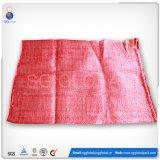 Röhrenpolyineinander greifen-Beutel des Rot-50*80cm für verpackenzwiebeln