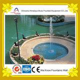 Disegno dell'interno della fontana di musica dell'acqua