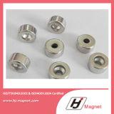 Super leistungsfähiger kundenspezifischer Ring N35 permanenter NdFeB Neodym-Magnet für Motoren durch ISO14001