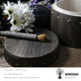 Barril de madera quemado aduana Wholesale_L del café o del té del color de Hongdao
