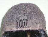"""Надкожица девственницы шнурка цвета #6-Full типа 3 Kosher еврейского /16 париков """", европейские волосы"""