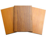 12mm Woodgrain 매트 Surface Compact Laminate