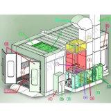 CE de Witn de cabine de /Painting de cabine de jet de voiture (SF0101)