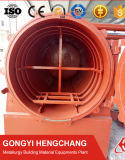 De roterende Oven van de Carbonisatie van de Luchtstroom van de Schil van de Rijst