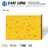 Lastre Polished variopinte personalizzate della pietra del quarzo per i comitati costruiti all'ingrosso parete/della pietra