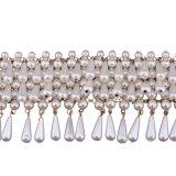 De hete Verkopende MultiHalsband van Chocker van de Luxe van de Halsband van de Parel Lhandmade Korte