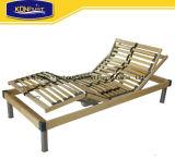 Base eléctrica de los muebles del estilo de abedul de madera de la base ajustable europea casera del listón sola