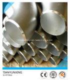 Codo inconsútil de los Ss 304/304L/316/316L del acero inoxidable