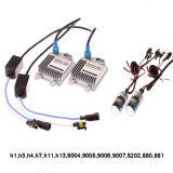 Kit caldo del xeno NASCOSTO AC/DC di vendite con reattanza sottile e colore variopinto H4 H7 9005 9006