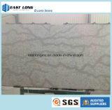 허영 상단 탁상용 싱크대 건축재료를 위한 아름다운 대리석 색깔 석영 돌 단단한 표면