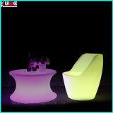 La silla lateral del LED con la iluminación recargable impermeabiliza