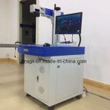 Laser die van de Vezel van het Messing van het Koper van het roestvrij staal de Plastic Merken van de Laser van de Vezel van de Machine het Mini merken
