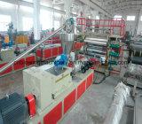 Linha de produção de mármore artificial do PVC, máquina de mármore do painel de Aritificial, linha plástica de pedra de mármore da extrusão da folha