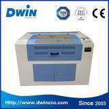 Mini máquina de grabado de cuero del laser del CO2 50W del CNC 9060 de la talla