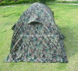 Tente campante d'armée imperméable à l'eau de camouflage de fibre de verre de Double couche