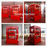小規模の企業Qtj4-26の手動ブロック機械のための機械