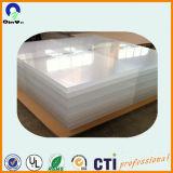 La Cina strato trasparente dell'acrilico di 6ft x di 4ft sottilmente 5mm