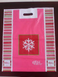 싼 PE를 인쇄하는 로고를 정지한다 커트 패치 손잡이 생물 분해성 쇼핑 비닐 봉투를 주문 설계하십시오