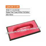 Paleta de goma del flotador de la maneta de madera D-10