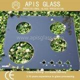 Silk Bildschirm gedrucktes ausgeglichenes Glas für Brenner-Gas-Geräteglas