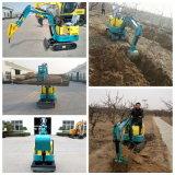 Excavatrice bon marché de chenille excavatrice 0.8ton chaude de vente de la mini de Chine