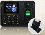 De biometrische Opkomst van de Prikklok met Registreertoestel SSR (T5)